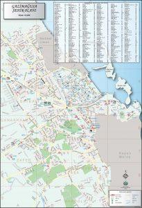 Gazimağusa Haritası