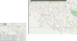 Map Of Gönyeli