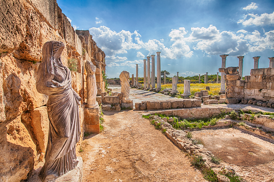 The City Of Salamis 171 North Cyprus Tourism Centre